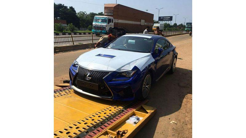The mental Lexus RC-F lands on Indian shores