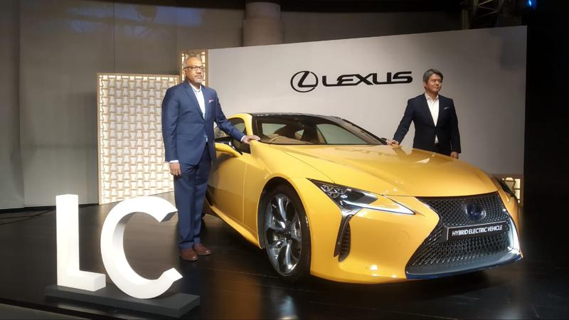 Lexus launches LC500h launched in India at Rs 1.96 crores