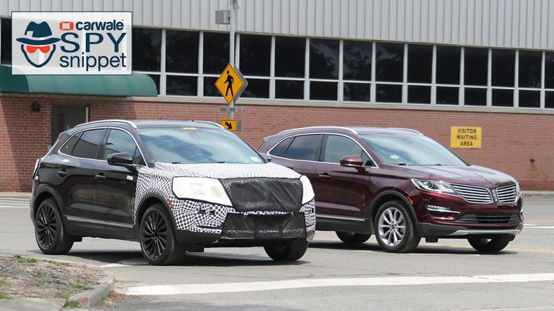 Lincoln spotted testing the new 2018 MKC crossover