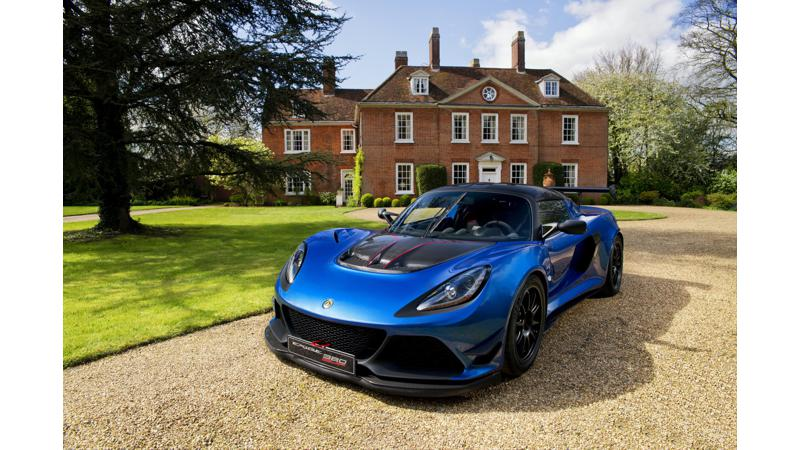 Lotus revealed a limited edition track ready Exige Cup 380