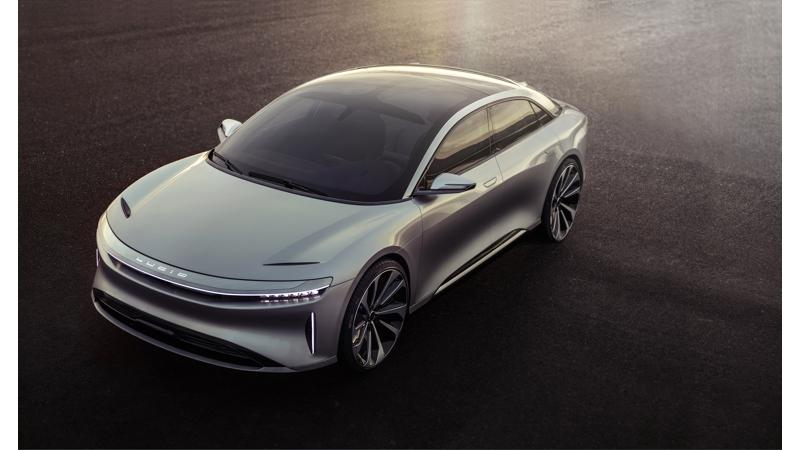Lucid unveiled its new electric sedan, the Air
