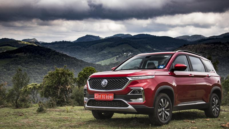 3,021 units of MG Hector sold in December 2019