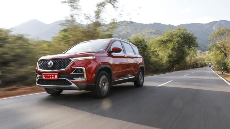 MG Hector garners sales of 3,536 units in October 2019