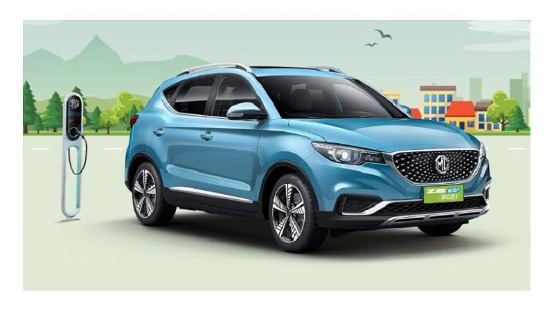 2021 MG ZS EV to be introduced in India on 8 February