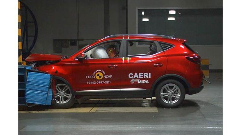 MG ZS EV scores five-stars in Euro NCAP