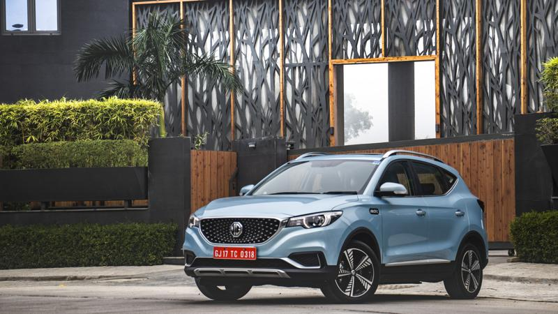 MG ZS EV to be launched in India on 27 January