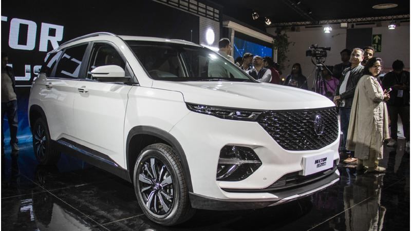 MG to launch Hector Plus in India in Q3 2020