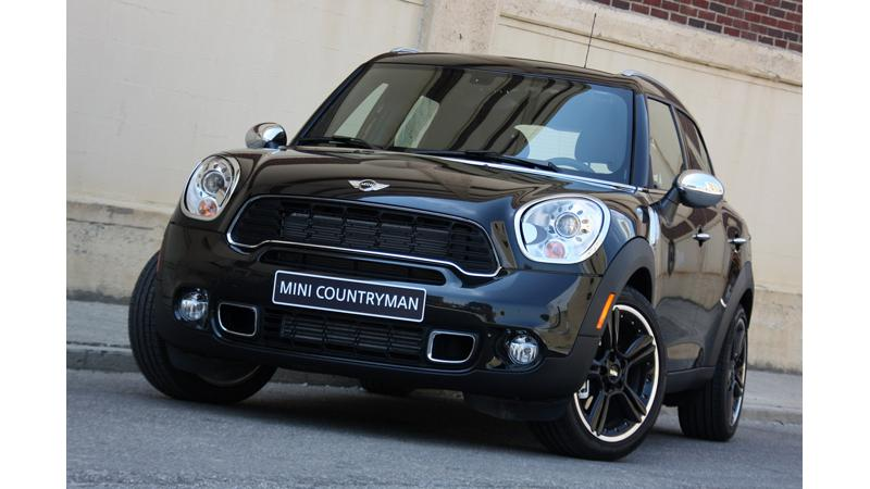 Mini Paceman and Cooper Countryman to get all wheel drive technology
