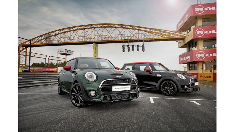 MINI JCW Pro Edition introduced in India