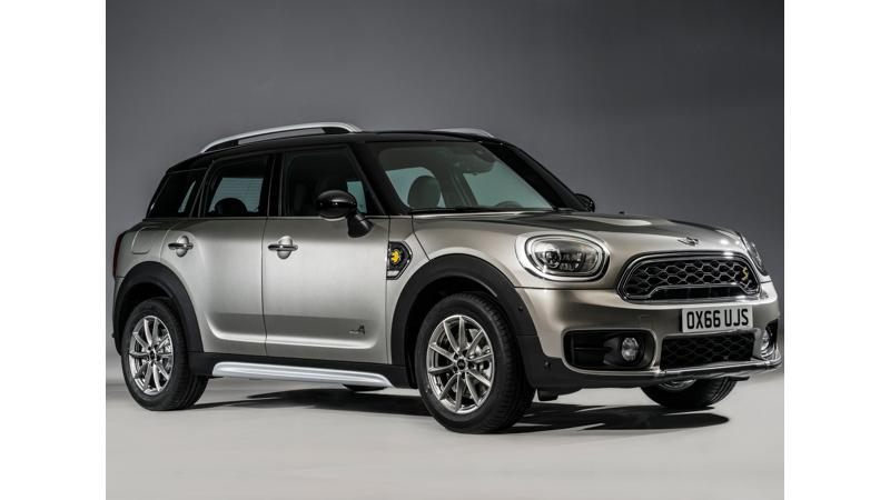 Mini unveils new plug-in hybrid Countryman