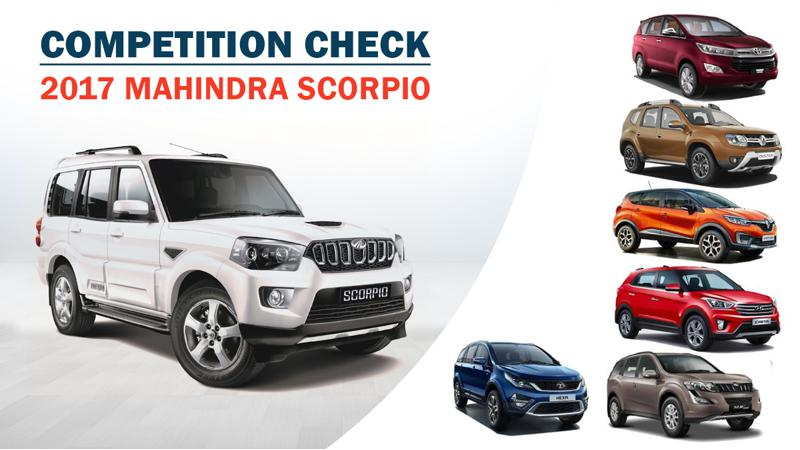 Competition Check: New Mahindra Scorpio