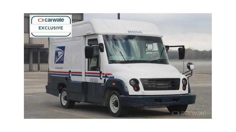 Mahindra USPS prototype truck spotted testing
