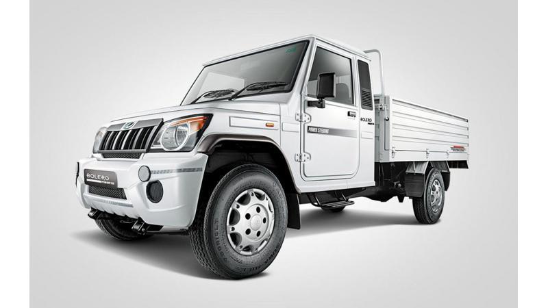 Mahindra Big Bolero Pik-up launched at Rs 6.15 lakh