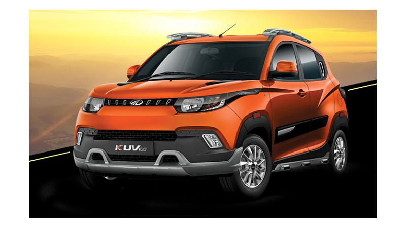 Mahindra offering attractive discounts on the KUV100