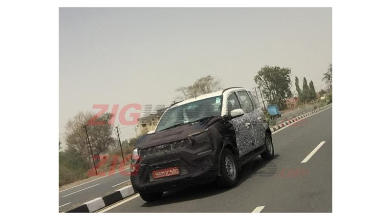 New Mahindra Quanto facelift spied testing