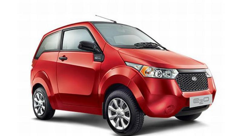 Special features of the Mahindra Reva e2o