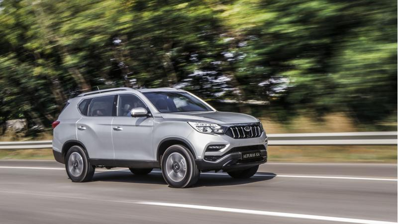 2018 Mahindra Alturas launched in India at Rs 26.95 lakhs
