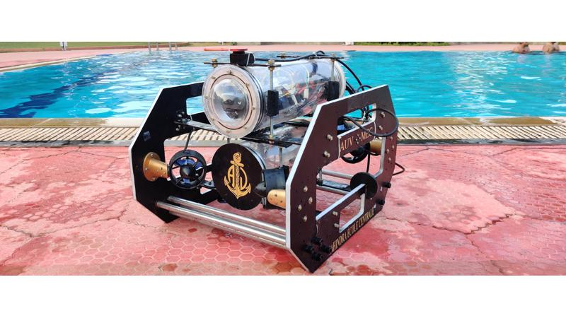 Mahindra Ecole Centrale Black Pearl AUV unveiled