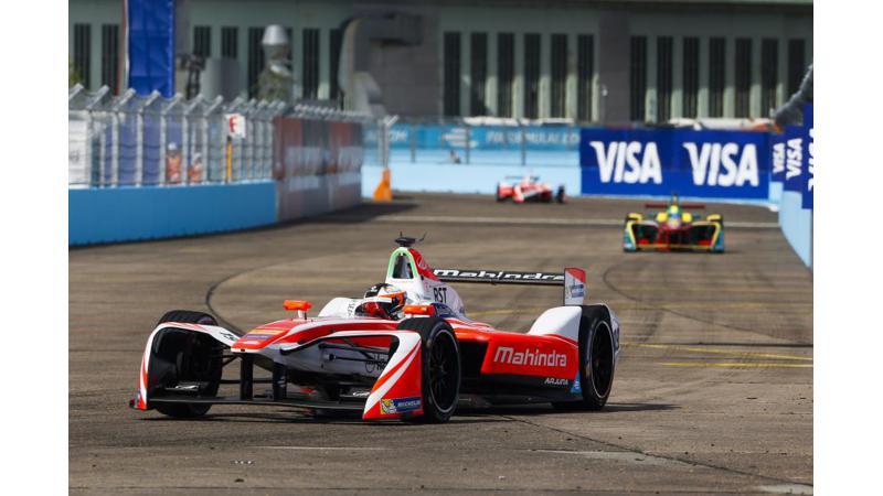 Mahindra Racing clinches its first podium in Formula E