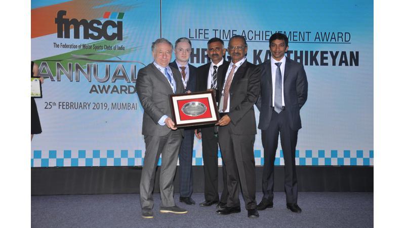 FMSCI felicitates 2018 race season winners