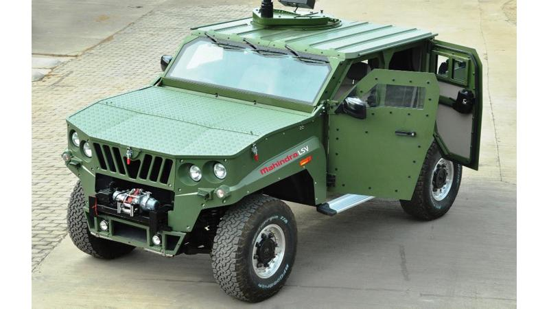 Mahindra Defence gets 1,300 armoured vehicle contract from Defence Ministry