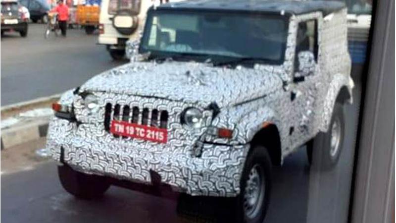 Mahindra to unveil new Thar in India tomorrow