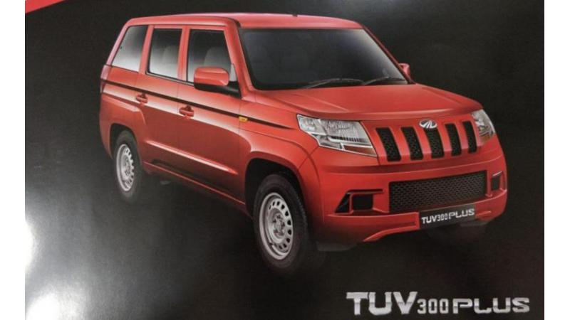 Details for Mahindra TUV300 Plus leaked
