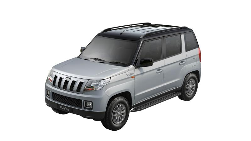 Mahindra TUV300 launched in a new dual tone shade