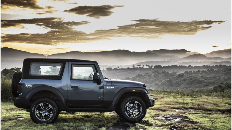 Mahindra delivers 2,569 units of the Thar in November 2020
