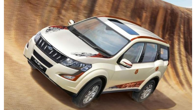 Mahindra launches XUV500 Sportz Edition; priced at Rs 16.52 lakh