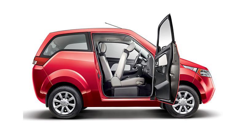 Mahindra retires two-door Mahindra e2o in India