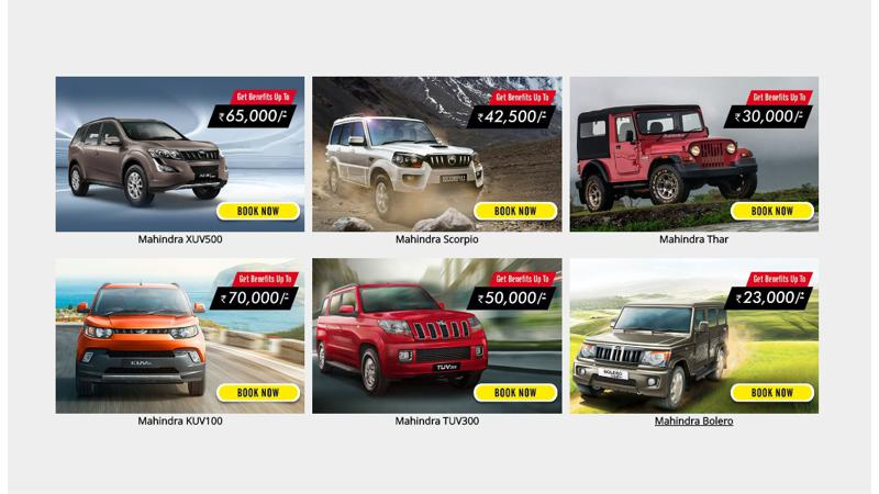 Mahindra offers exclusive deals for new buyers this festive season
