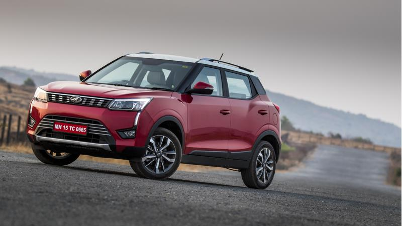 Mahindra XUV 300 revealed in new images