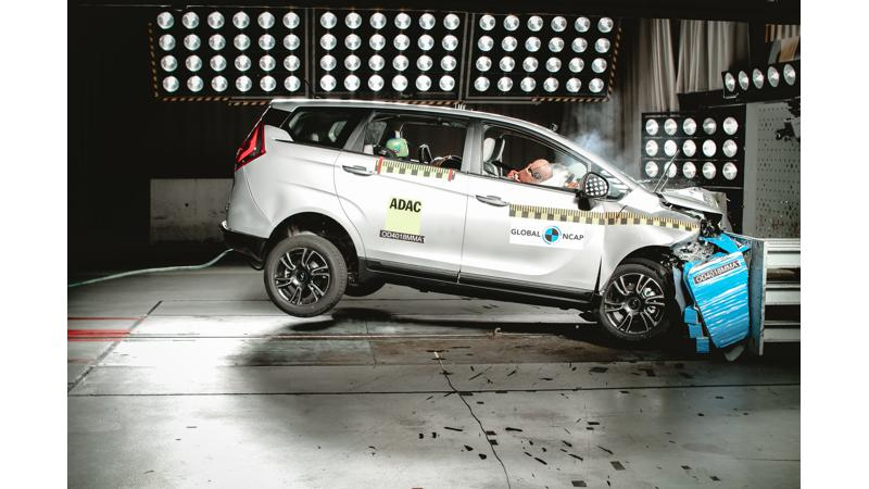 Mahindra Marazzo scores four stars in global NCAP