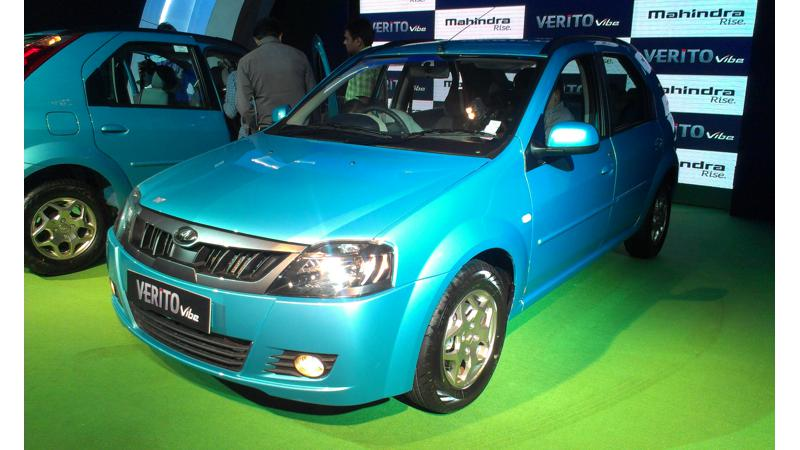 Mahindra Verito Vibe launch on June 5, 2013