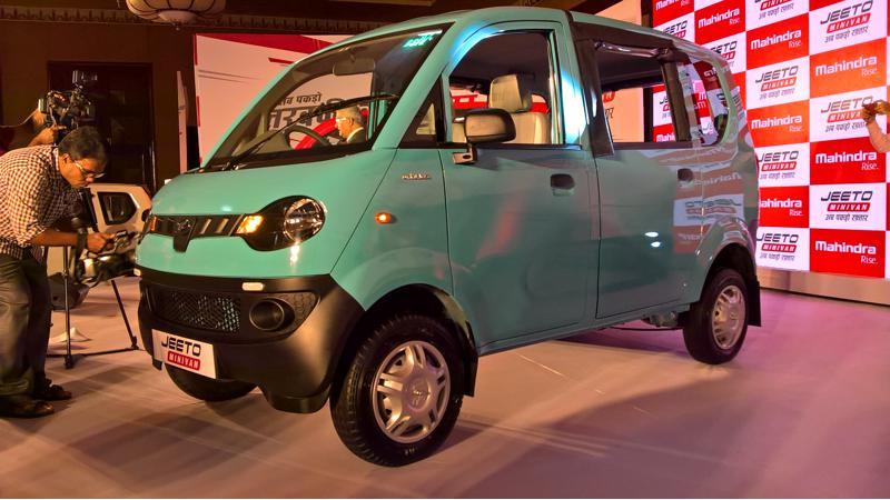 Mahindra launches the Jeeto minivan at Rs. 3.45 lakh