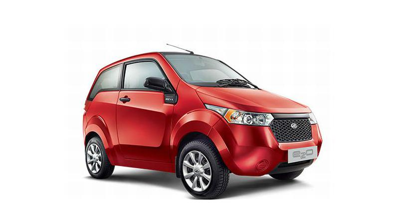 Mahindra e2o launched in India, an electric Mahindra Verito in future?