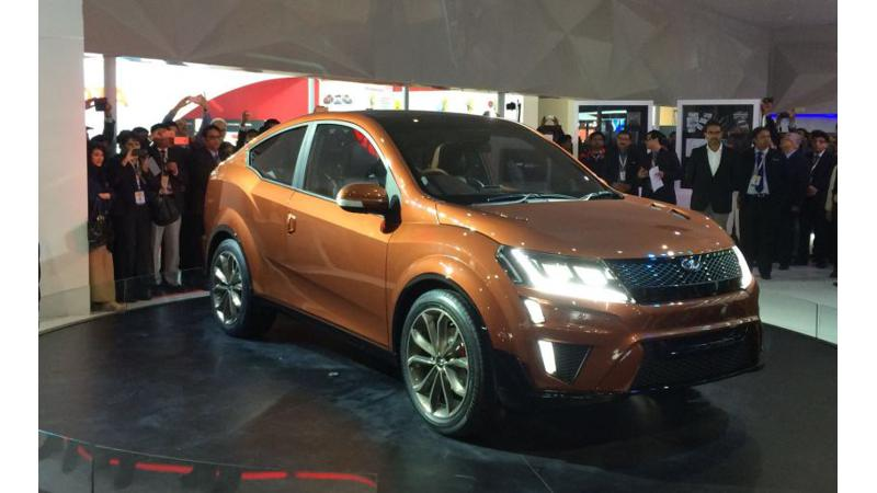Mahindra might be developing electric Aero SUV