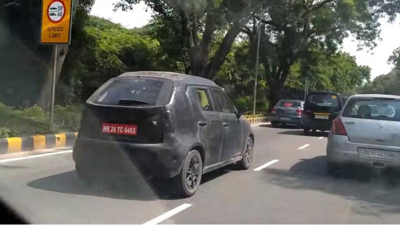 Maruti Suzuki Ignis spied testing in New Delhi