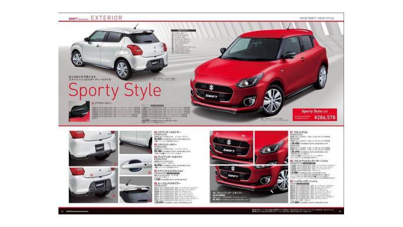 New-gen Maruti Suzuki Swift to get add-on styling packs