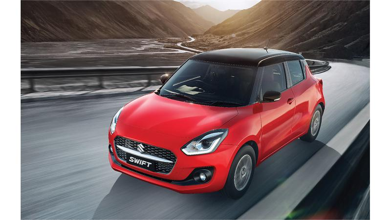 Maruti Suzuki Swift facelift launched in India; prices start at Rs 5.73 lakh