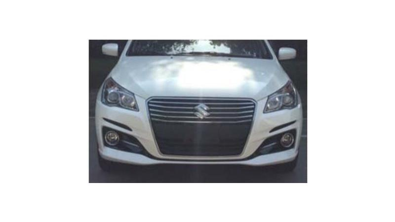Updated Suzuki Ciaz spotted in China  likely to be launched in India