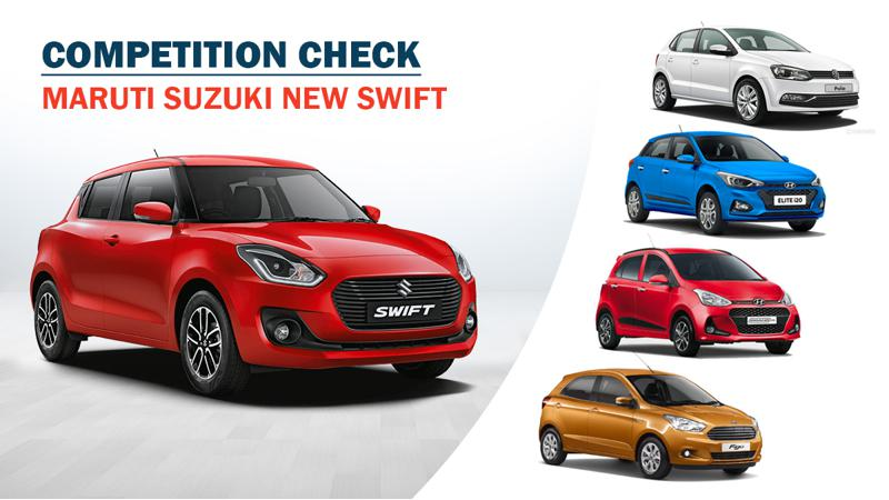 Competition check - 2018 Maruti Swift