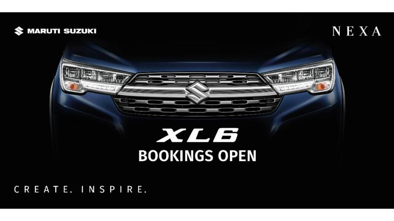 Maruti Suzuki XL6 bookings commence at Rs 11,000