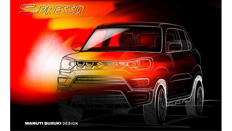 Maruti Suzuki teases S-Presso ahead of India launch on September 30