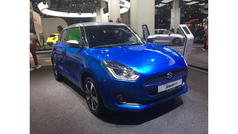 2017 Frankfurt Auto Show:  New Suzuki Swift provides hints for India spec car