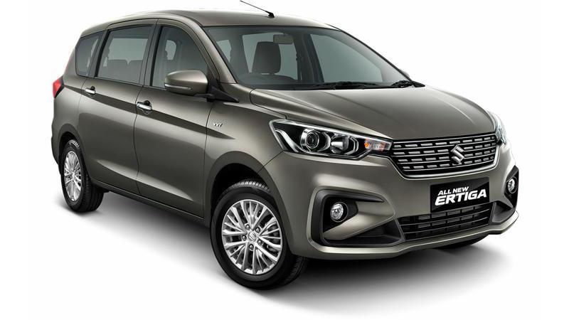 New-generation Maruti Suzuki Ertiga automatic spied testing