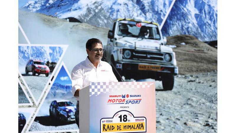 Suresh Rana and Ashwin Naik claim the 18th Maruti Suzuki Raid de Himalaya title