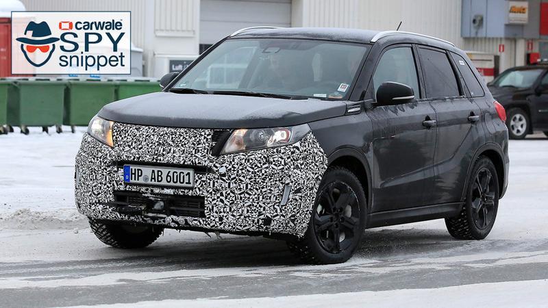 Suzuki preparing another facelift for Vitara
