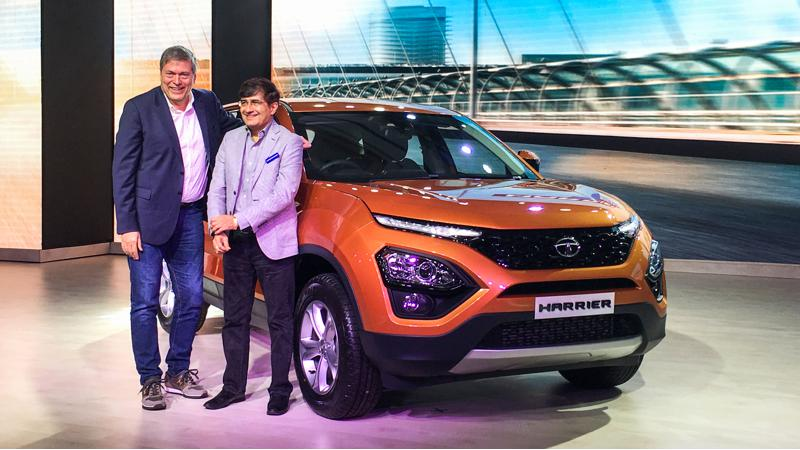 Tata Harrier debuts in India for a price of Rs 12.69 lakhs